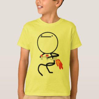 Nothing To Do Here Jet Pack Guy T-Shirt
