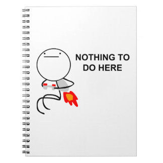 Nothing To Do Here - Notebook