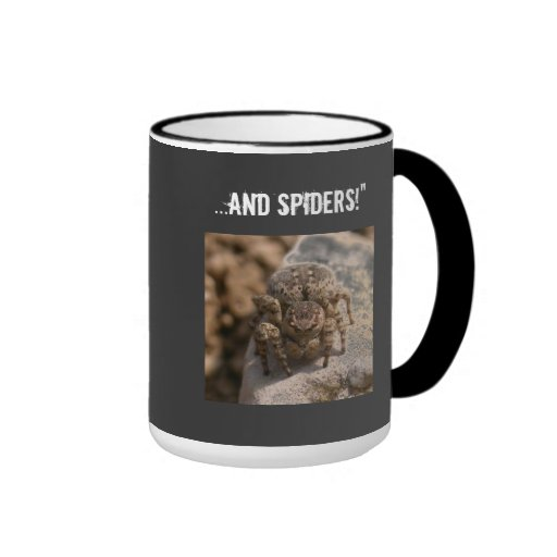 Nothing to fear Spiders Mugs