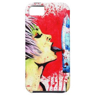 Nothing to Lose Horror Pop Art Portrait iPhone SE/5/5s Case