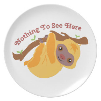 Nothing To See Party Plates
