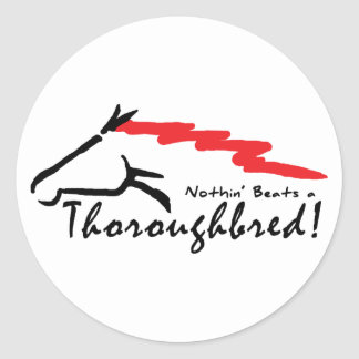 NothingBeats Round Stickers