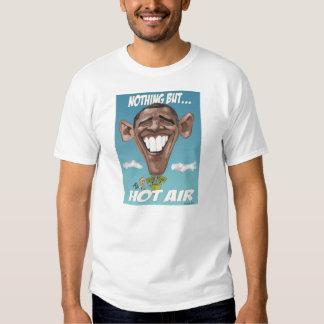 NothingButHotAirObama XL T-Shirt w/ URL On Back