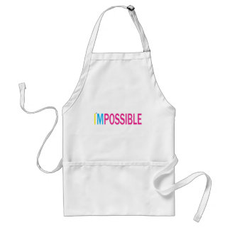 Nothing's Impossible Adult Apron