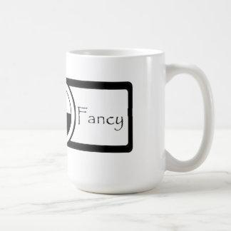 Nothng Fancy Classic White Coffee Mug