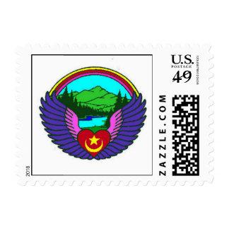 Nothwest Sufi Camp Stamp