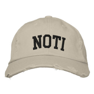 Noti Embroidered Hat Embroidered Hats