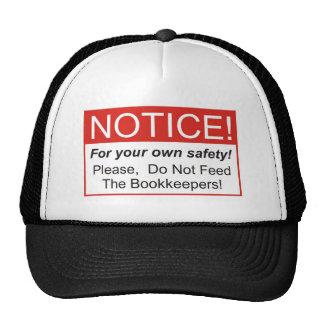 Notice / Bookkeeper Trucker Hat