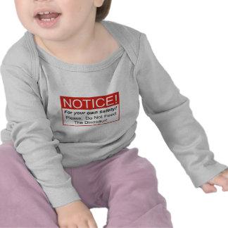 Notice / Dinosaur T Shirt