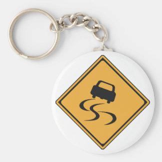 notice for slip keychain