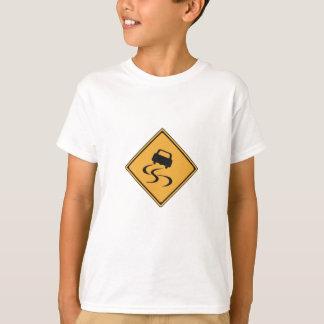 notice for slip T-Shirt