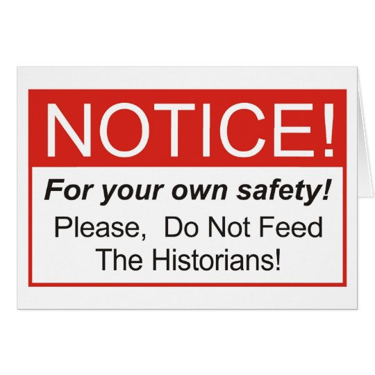 Notice / Historian Card