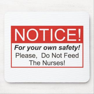 Notice / Nurse Mouse Pad