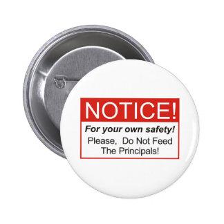 Notice / Principal Button