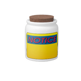 Notice This! Candy Jars
