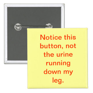 Notice this, Not the urine Buttons