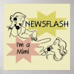 Noticia de última hora soy las camisetas un Mimi y Impresiones