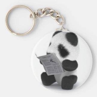 noticias de la panda del bebé 3d llavero