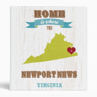Noticias de Newport mapa de Virginia - casero es