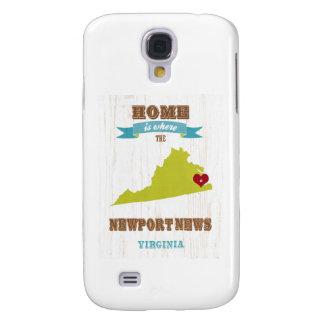 Noticias de Newport, mapa de Virginia - casero es  Funda Para Galaxy S4