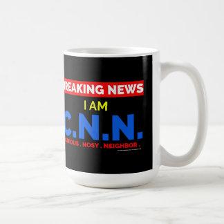 Noticias de última hora: Soy el vecino Nosy Taza De Café