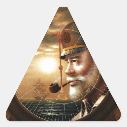 NOTICIAS y capitán 1 del mapa o capitán de mar Pegatinas