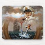 NOTICIAS y capitán 2 del mapa o capitán de mar Alfombrilla De Ratones