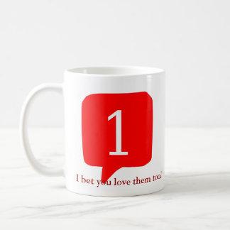 Notifications, I bet you love them too! Classic White Coffee Mug