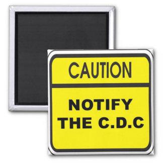 Notifique el C.D.C. Imán Cuadrado