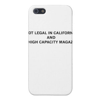 NotLegalInCali Case For iPhone 5