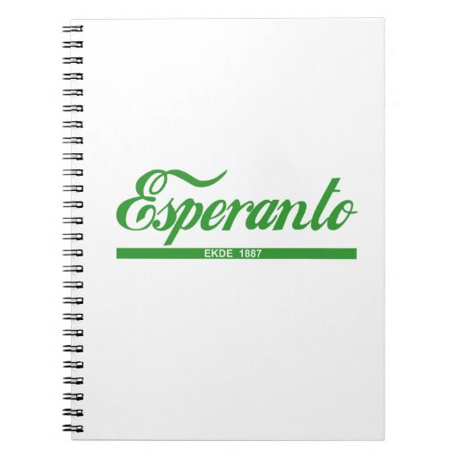 Notlibro Esperanto Libros De Apuntes Con Espiral