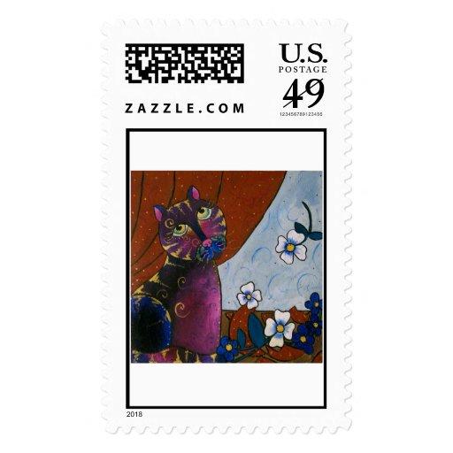 NotMe Postage Stamp