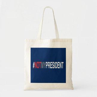 #NotMyPresident Tote Bag
