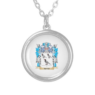 Noto Coat of Arms - Family Crest Silver Plated Necklace