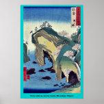 Noto, taki ningún ura por Ando, Hiroshige Ukiyoe Impresiones