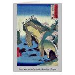 Noto, taki ningún ura por Ando, Hiroshige Ukiyoe Tarjetas