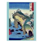 Noto, taki ningún ura por Ando, Hiroshige Ukiyoe Postal