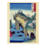Noto, taki ningún ura por Ando, Hiroshige Ukiyoe Tarjetas Postales
