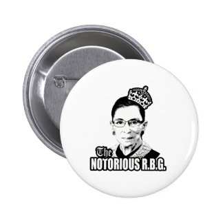 Notorious R.B.G. Button