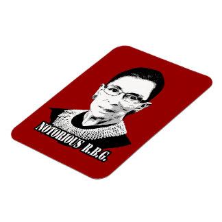 Notorious R.B.G. Rectangular Photo Magnet