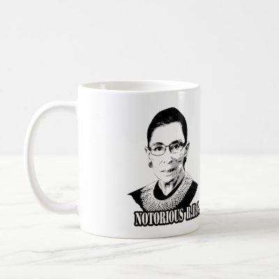 f13dba1b6a5 Ruth Bader Ginsburg RBG Mug | Zazzle.com