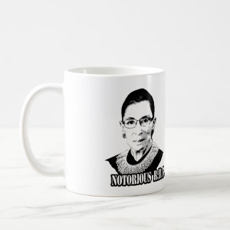 Notorious R.B.G. - Ruth Bader Ginsburg Classic White Coffee Mug