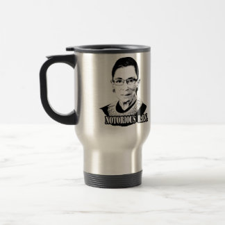 Notorious R.B.G. - Ruth Bader Ginsburg Travel Mug