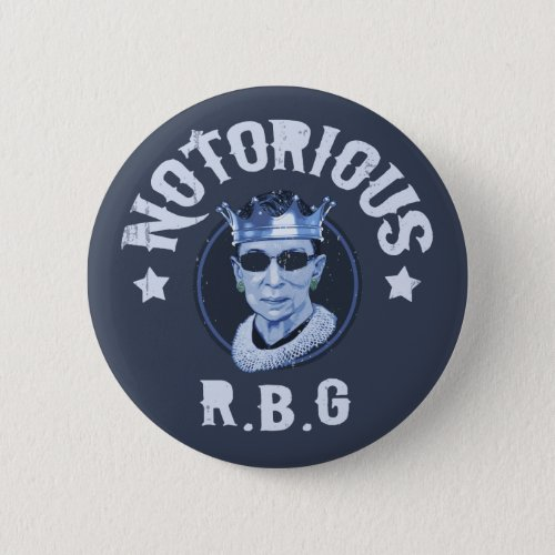 Notorious RBG III Button