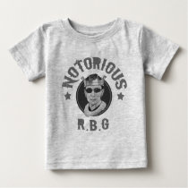Notorious RBG III -bw Baby T-Shirt