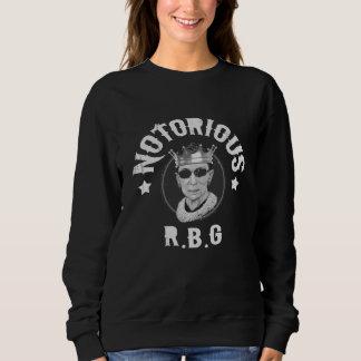 Notorious RBG III -bw Sweatshirt
