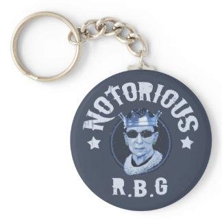 Notorious RBG III Keychain