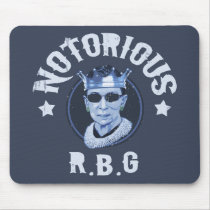 Notorious RBG III Mouse Pad