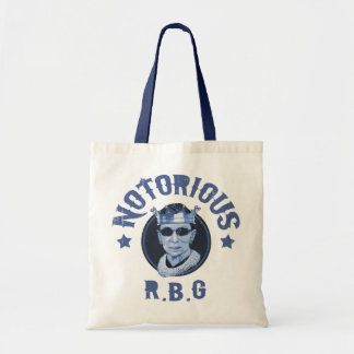 Notorious RBG III Tote Bag