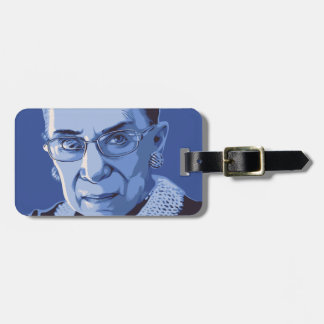 Notorious RBG Luggage Tag